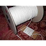 Square Braided 4/0 Cotton Wick 20 Yards