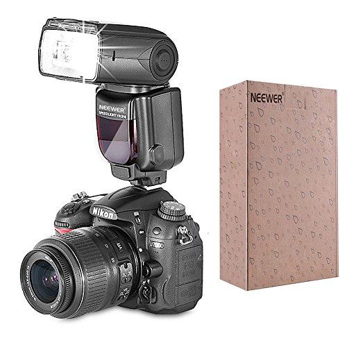 Neewer® Meike MK910 i-TTL *High Speed Sync* 1/8000s HSS LCD Display Speedlite Master/Slave Flash Kit for Nikon D3S D50 D60 D70 D70S D80 D80S D200 D300 D300S D700 D3000 D3100 D5000 D5100 D7000 and All Other Nikon DSLR Cameras,includes(1)MK910 iTTL Flash for Nikon+(1)MK-GT600 TTL Wireless Flash Trigger For Nikon+(4)LR6 Battery*2+(1)Microfiber Cleaning Cloth