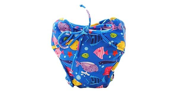 LUNA VOW Pañales de ducha absorbentes ajustables del pañal de natación reutilizable para el niño del bebé, A28: Amazon.es: Ropa y accesorios