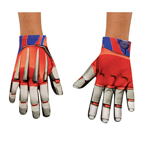 Disguise Hasbro Transformers Age of Extinction Movie Optimus Prime Child Gloves, One Size (Optimus Prime Fancy Dress)
