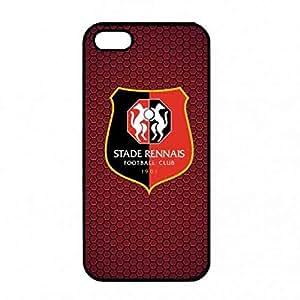 iPhone 5/ iPhone 5s Funda , Customized Ligue 1 Stade Rennais Logo Funda