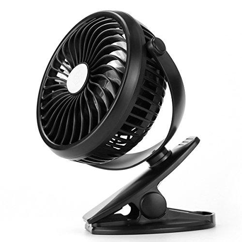 360도 USB 미니 냉각 팬, 조절 가능한 USB 사일런트 팬, 클립 스..