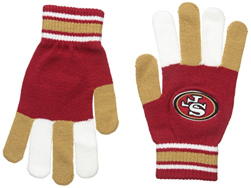 FOCO NFL Unisex Multi Color Team Knit Glove