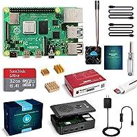 LABISTS Raspberry Pi 4 Starter Kit with Pi 4 Model B 4GB RAM Board, 32GB Micro SD Card Preloaded Raspbian, 5V 3A Power...