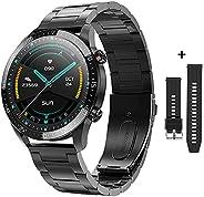Zodvboz Relógio Inteligente Masculino Desportivo,IP68 à Prova d'água,Rastreador de Atividades com Monitor