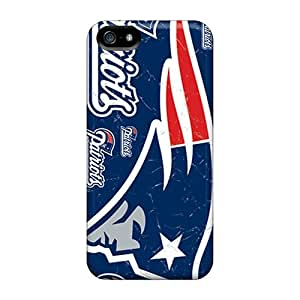 AcX4222wHvx pc Phone Case With Fashionable Look For Iphone 5/5s - New England Patriots