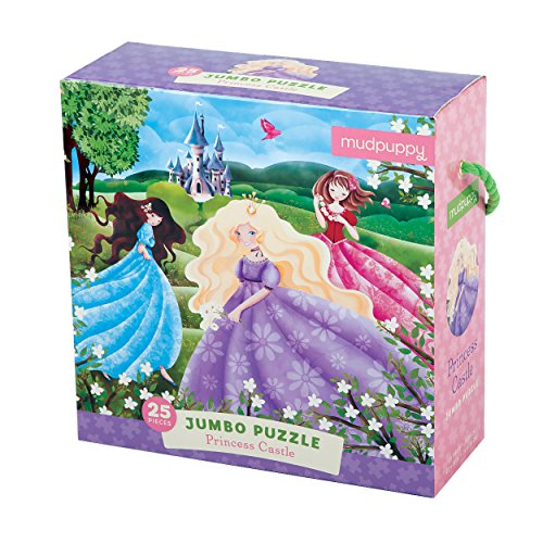 Mudpuppy Princess Castle Jumbo Puzzle (25 Piece)