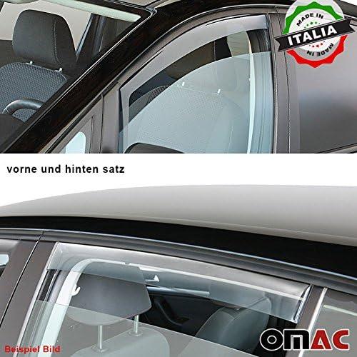 Omac GmbH Hyundai i40 Variant Windabweiser Regenabweiser 2 tlg Satz Vorne ab 2011