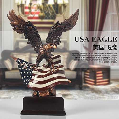 Amazon.com: Eagle Statue Freedomu0027s Pride American Eagle Sculpture Office  Home Decor Figurine Gift: Home U0026 Kitchen