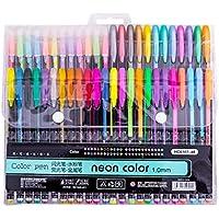 48-Count XLStore Color Glitter Gel Pen Set