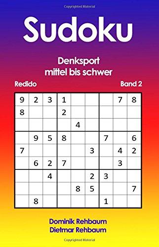Redido Sudoku - mittel bis schwer - Denksport