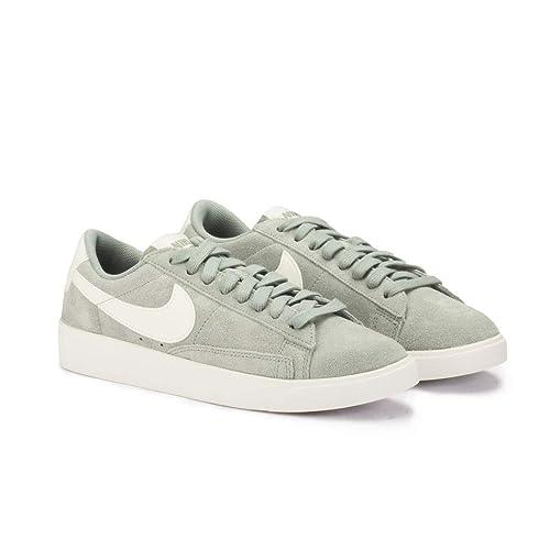 Nike Blazer Low Suede Verde - Zapatillas Mujer: Amazon.es: Zapatos y complementos