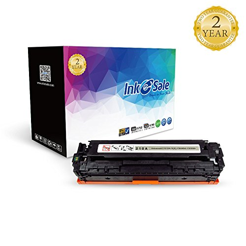 INK E-SALE Compatible Toner Cartridge Replacement for HP 131A CF210A 131X CF210X (Black, 1-Pack), for use with HP MFP M276nw HP Laserjet Pro 200 Color M251nw, Canon MF8280Cw LBP7110Cw Printer