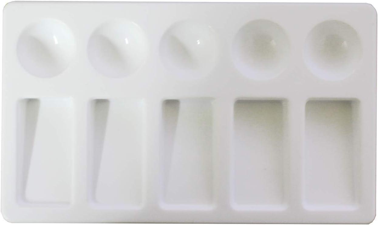 Artina 5 Set Mixing Palette Art Paint Tray 23,5 cm X 17 Pallet 10...