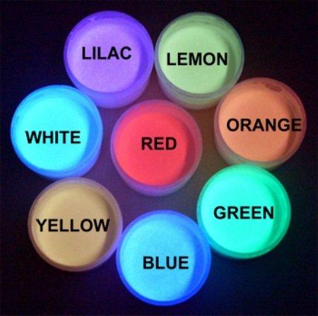 ORANGE UV Reactive Daytime Invisible Neon Rave Paint 2oz (60ml)