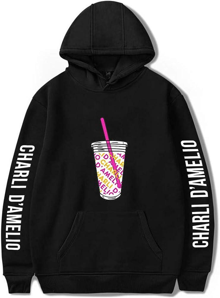 Unisex Hoodies Ice Coffee Splatter Hoodie Sweatshirts Men and Women Hooded Sweater