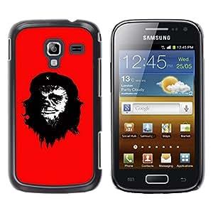 Stuss Case / Funda Carcasa protectora - Che Guevara Caricature Art Painting Monkey Man - Samsung Galaxy Ace 2 I8160 Ace II X S7560M