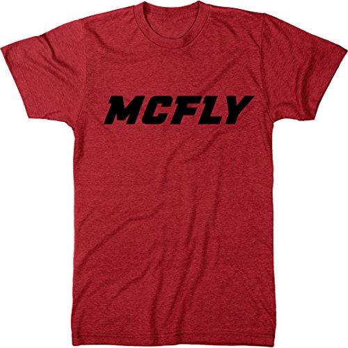 McFly Men's Modern Fit Tri-Blend T-Shirt, red, black or gray