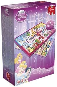 Jumbo Disney Princess - Lote de juegos de mesa (parchís y serpientes y escaleras)