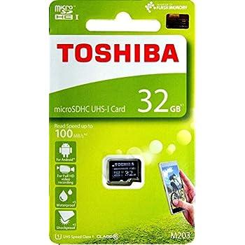 TOSHIBA Micro SD Card 32GB M203 microSDHC UHS-I U1 Card Class 10 microSD 32G Memory Card 100MB/s