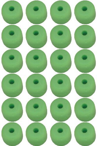 Nitro Buttons - Pine Ridge Archery 25pk Nitro Buttons, Lime Green