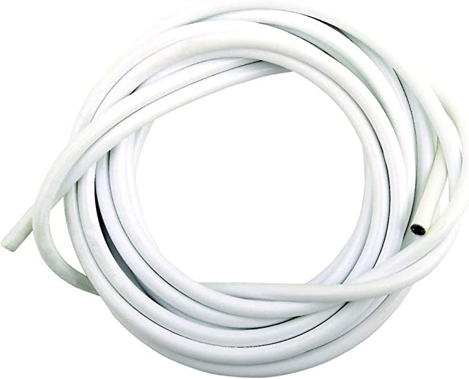 Voile Curtain Wire Including C Hooks /& Eyes 1 Mtr 30Mtr Lengths White Net