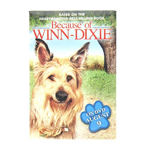 Because of Winn-Dixie Promotional Movie Pin Brooch 2005
