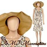 Abstract Standing Abstract Female Adult Mannequin + Base (YF2-1F)