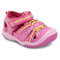 Stride Rite Girls\' Baby Petra (Inf/Tod) - Pink - 7.5 W Tod