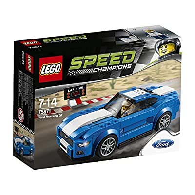 LEGO (LEGO) Speed ??Champion Ford Mustang GT 75871: Toys & Games