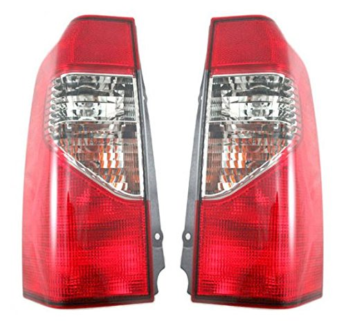 Taillights Taillamps Rear Brake Lights Lamps Pair Set For 00-01 Nissan Xterra