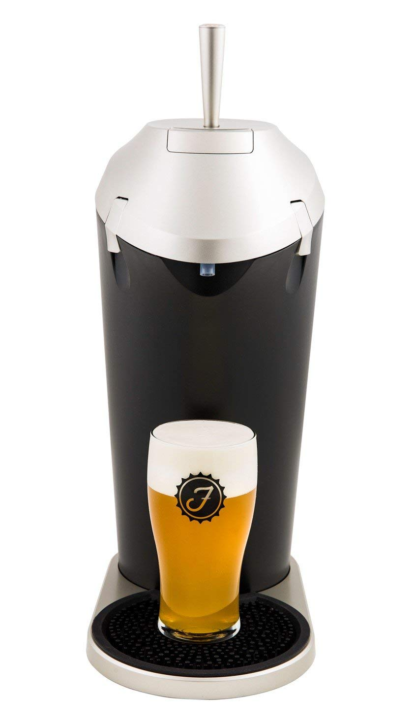 Fizzics Original. Portable Beer System with Fizzics Micro-foam Technology for a Bottle to Draft Experience (for 64 oz. growlers, cans and bottles). by Fizzics (Image #3)