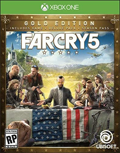 Far Cry 5 Steel book - Xbox One Gold Edition (Best Far Cry Game)