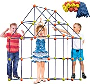 ERONE Fort Building Kit for Kids,158pcs Forts Construction Builder Gift Toys for Boys and Girls,Fort Building