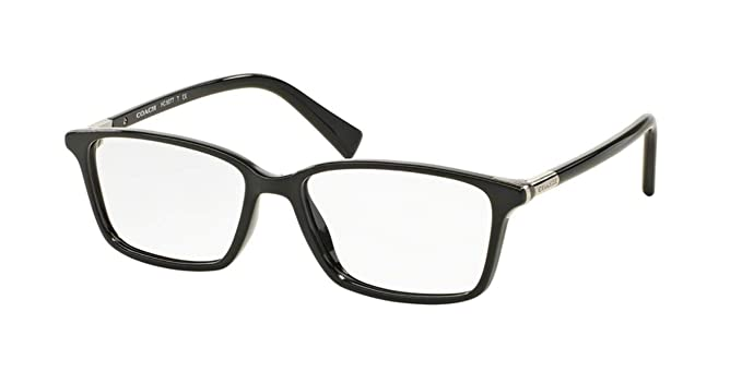b5d920f50ac9 COACH Eyeglasses HC 6077 5002 Black 53MM at Amazon Women s Clothing ...