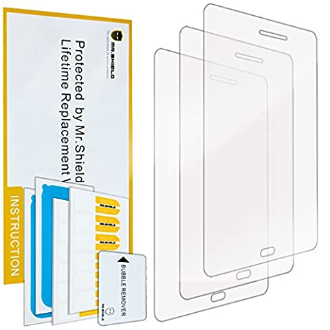 Mr Shield For Samsung Galaxy Tab A 8.0 Inch Premium Clear Screen Protector [3-PACK] with Lifetime Replacement (Samsung Galaxy Tab Cases 8 Inch)
