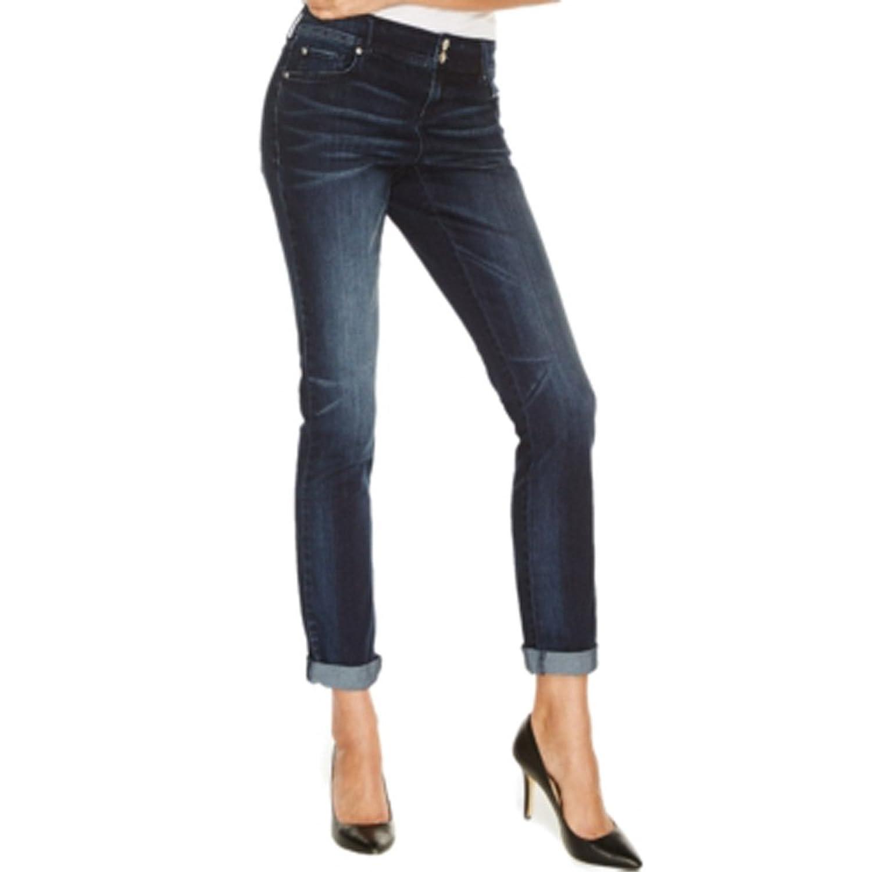 Good Inc International Concepts Curvy Fit Boyfriend Jeans Fire Wash