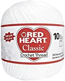 Coats Crochet Red Heart Classic Crochet, Thread Size 10