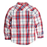 Levi's Boys Denim Trucker Jacket, Crimson, 3T