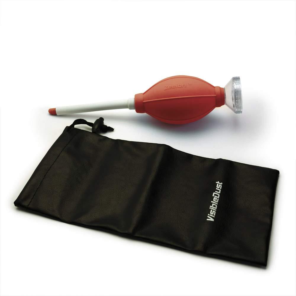 Zeeion FlexoNozzle Sensor Cleaning Anti-Static Bulb Blower for Digital Camera - Red Body