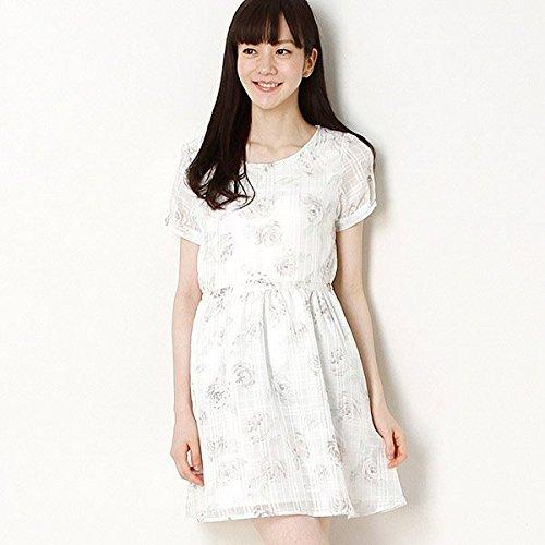 ロディスポット(LODISPOTTO)sweetローズチェックワンピ【ピンク/2(M)】