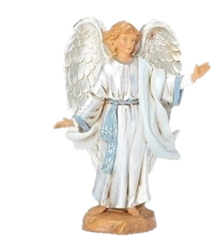 Roman, 5'' ANGEL AT THE RESURRECTION FIG LIFE OF CHRIST FONTANINI