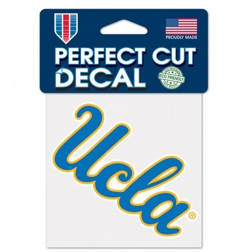 Colored UCLA Bruins Logo Perfect Cut Decal 4 x 4
