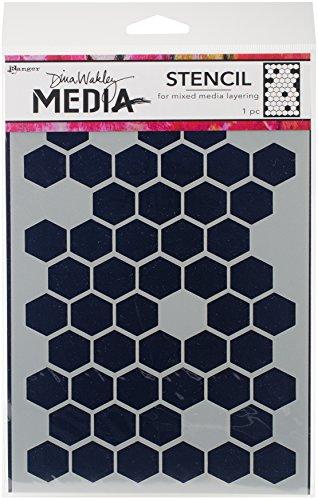 Ranger MDS58250 Dina Wakley Media Stencils 9
