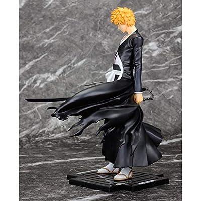 Siyushop Bleach: Ichigo Kurosaki PVC Figure - Heaven Locks The Moon - High 8.2 Inches: Toys & Games