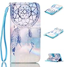 iPhone 6S Case, iPhone 6 Case, Kmety Dream Catcher [ Wristlet ][ Kickstand ] PU Leather Clutch Pouch Wallet [Credit Card/Cash Slots] Flip Cover for iPhone 6/6S