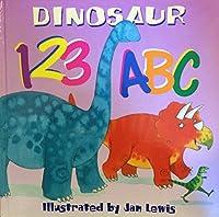 Dinosaur 123 ABC 0760725721 Book Cover