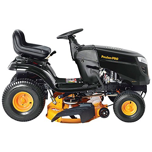 Poulan Pro 42 Mower Deck : Poulan pro hp speed lever riding tractor