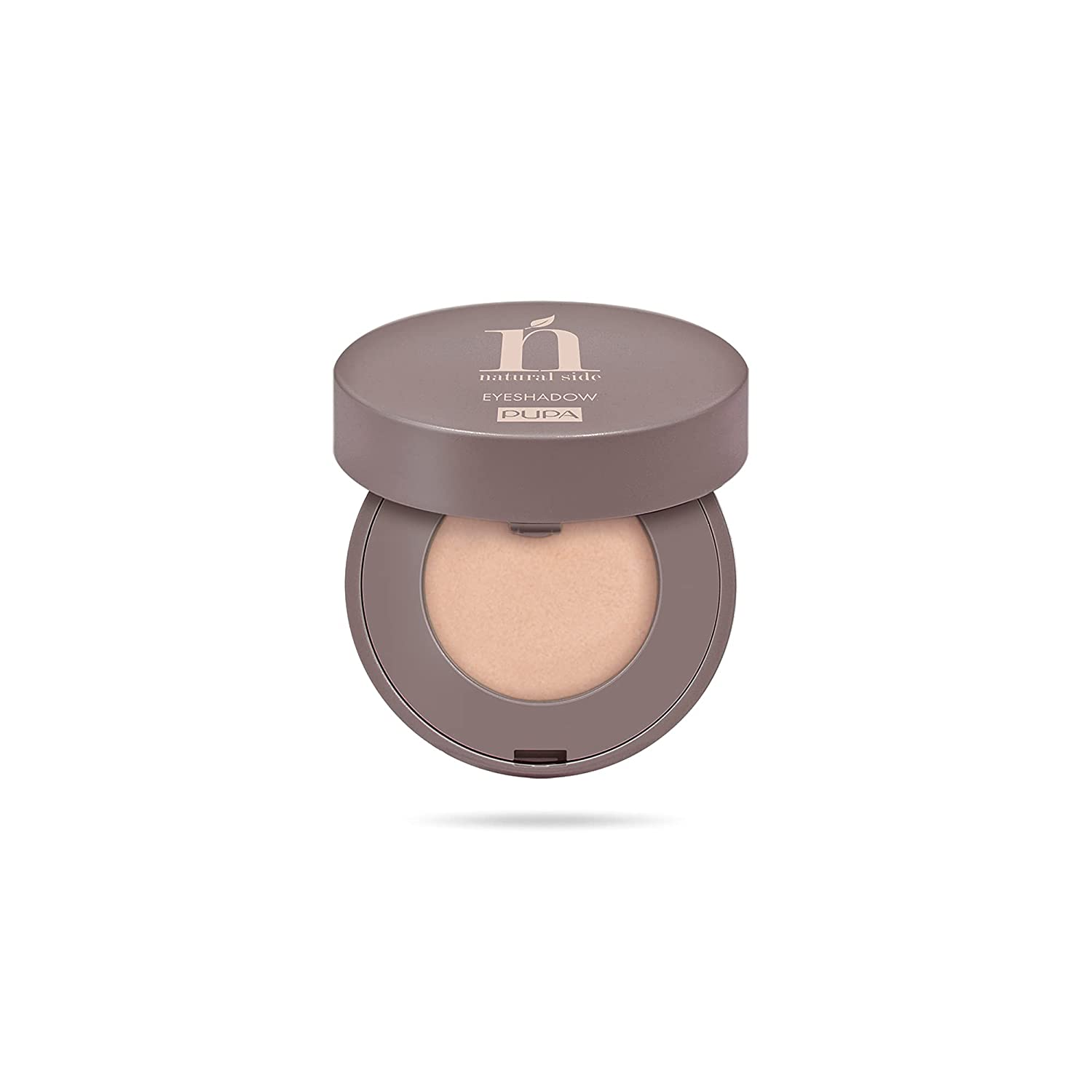 Natural Side Compact Eyeshadow – 004 Light Gold by Pupa Milano for Women – 0.07 oz Eye Shadow