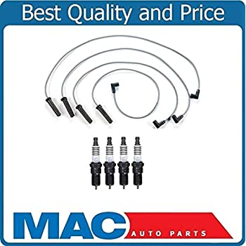 Ignition Spark Plug Wires Coils Plugs Air Oil for 98-03 Chevy S10 2.2L Pick Up
